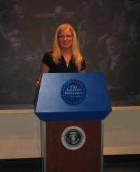 In DC at the Smithsonian trying to be all presidential and probably at my thinnest!
