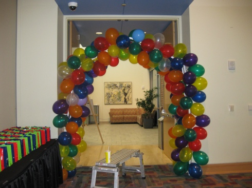 Balloon arch